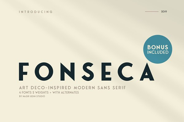 Fonseca ~ Regular & Bold