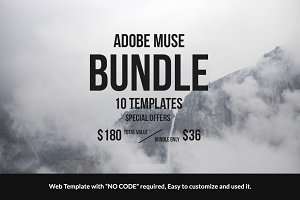 Adobe Muse Bundle - 10 Templates
