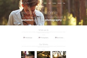 Flapp - Portfolio WordPress Theme