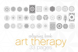 ✵ Art Therapy Coloring Book ✵