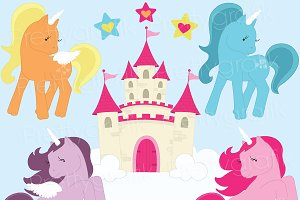 pony clipart commercial use
