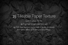 15 Tileable Paper Texture/Pattern