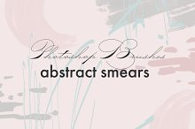 Abstract smears - PS Brushes by  in Brushes