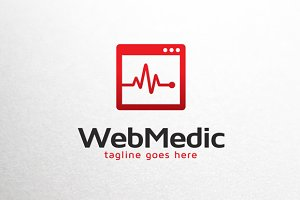 Web Medical Logo Template