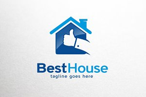Best House Logo Template