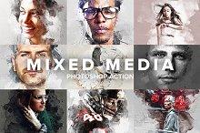 Mixed Media Photoshop Action