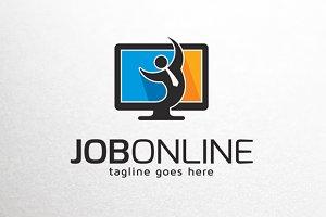 Job Online Logo Template