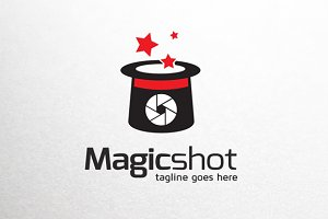 Magic Photography Logo Template