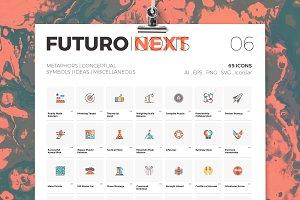 Futuro Next Icons / Metaphors Pack