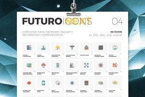 Futuro Next Icons / IT Pack