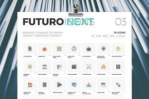 Futuro Next Icons / Finance Pack