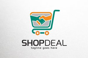 Shop Deal Logo Template