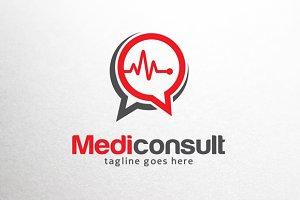 Medic Consult Logo Template