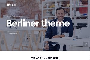 BERLINER - Creative Wordpress Theme
