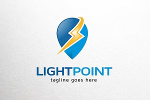 Lighting Point Logo Template