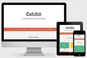 Exhibit - WordPress Portfolio Theme