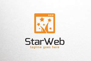 Star Website/ Blog Logo Template