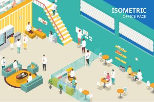 Isometric Office Pack