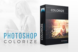 Colorize Photoshop actions set