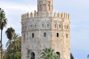 Spain. Seville. Torre del Oro