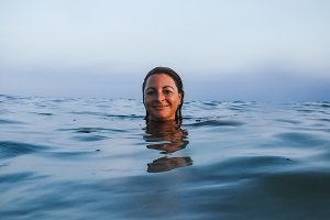 Portraits into the sea