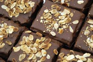 Chocolat. Cocoa. Chocolate cakes