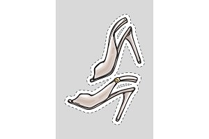 a02fdf3664d Seamless Pattern High Heels Shoes ~ Illustrations ~ Creative Market