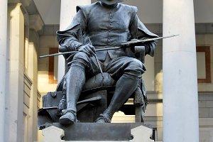 Velazquez statue. Madrid