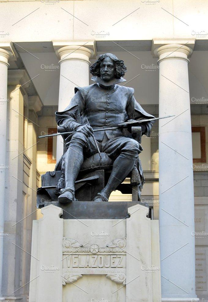 Velazquez statue. Madrid - Arts & Entertainment