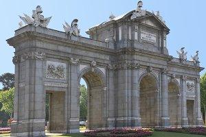 Puerta de Alcala. Madrid. Spain
