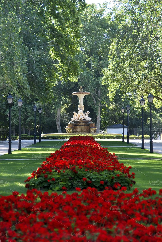 Retiro park. Madrid. Spain - Arts & Entertainment