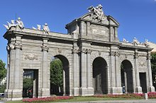 Alcala gate. Madrid. Spain