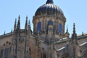 Salamanca Cathedral. Spain
