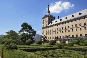 Escorial Garden. Madrid. Spain