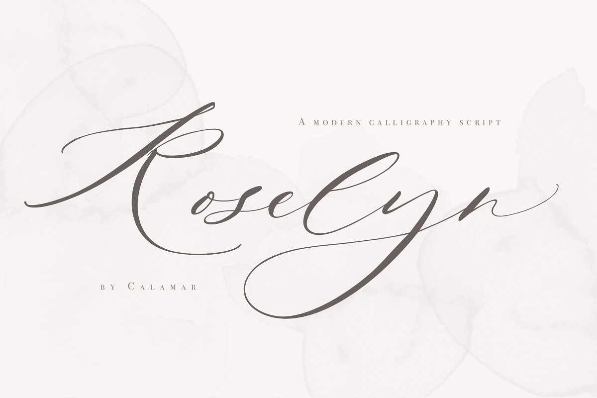 Roselyn Script in Script Fonts - product preview 8