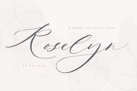 Roselyn Script in Script Fonts - product preview 12