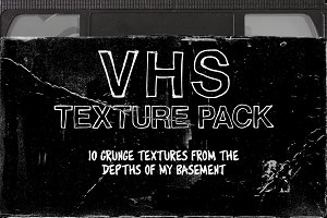 VHS Texture Pack