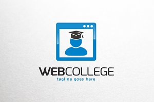 Web Education Logo Template
