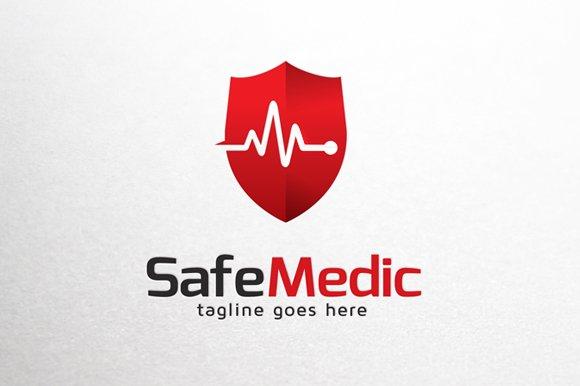 safe medic logo template logo templates creative market