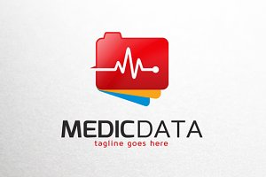 Medic Data Logo Template