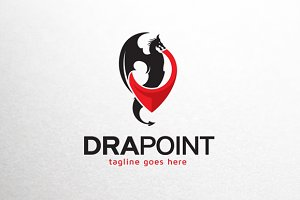 Dragon Point Logo Template