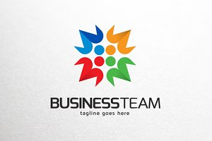 Business Team Logo Template
