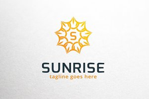 Sunrise / Letter S Logo Template