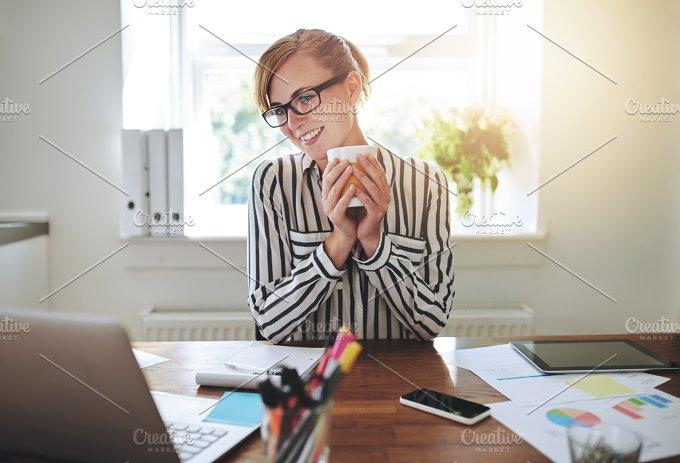 Happy successful businesswoman.jpg - Business