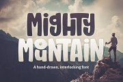 Mighty Mountain Font