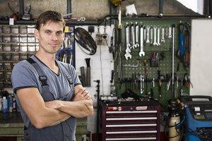 Garage worker