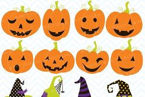pumpkin jack o lantern clipart