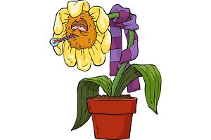 Ailing flower