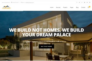 Building Construction HTML Template