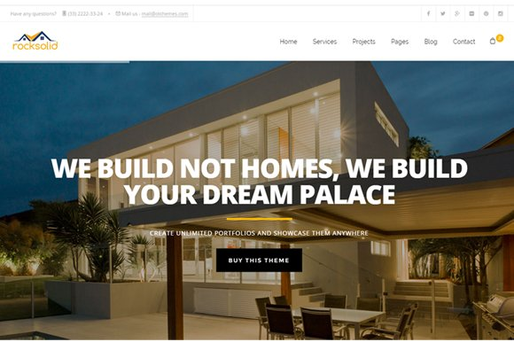 Building Construction HTML Template ~ Website Templates ~ Creative ...